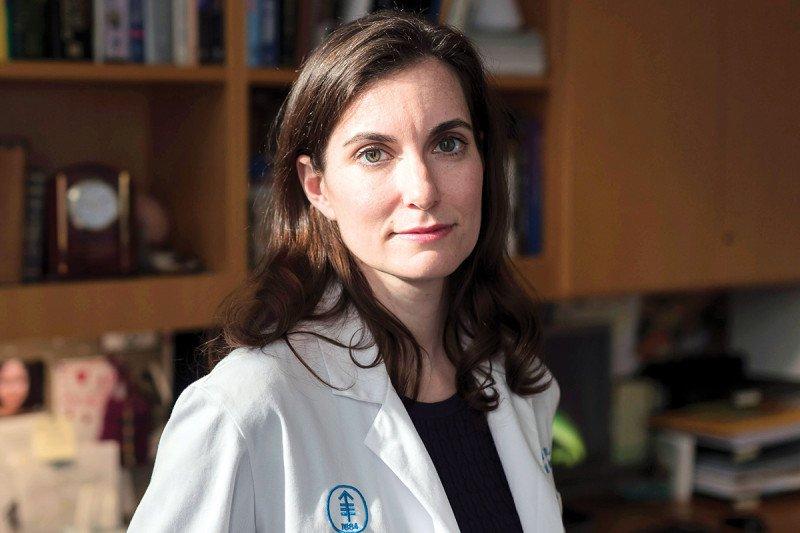 Neuro-oncologist Adrienne Boire