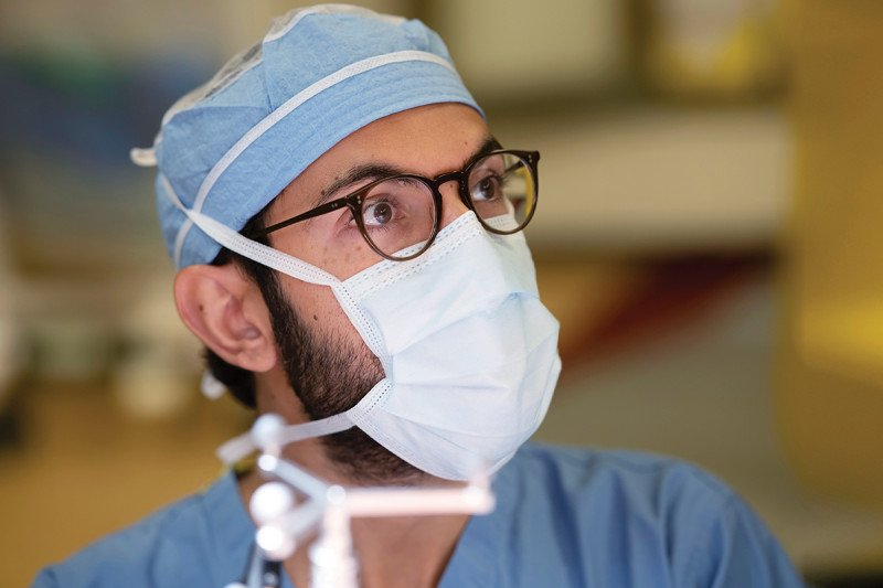 Neurosurgeon Nelson Moss