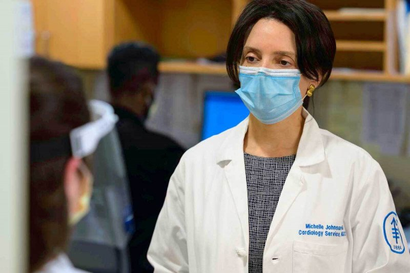 Michelle Johnson, a cardiologist at Memorial Sloan Kettering Cancer Center