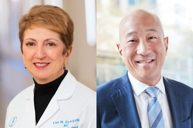 Lisa M. DeAngelis, MD, and Andrew Kung, MD, PhD