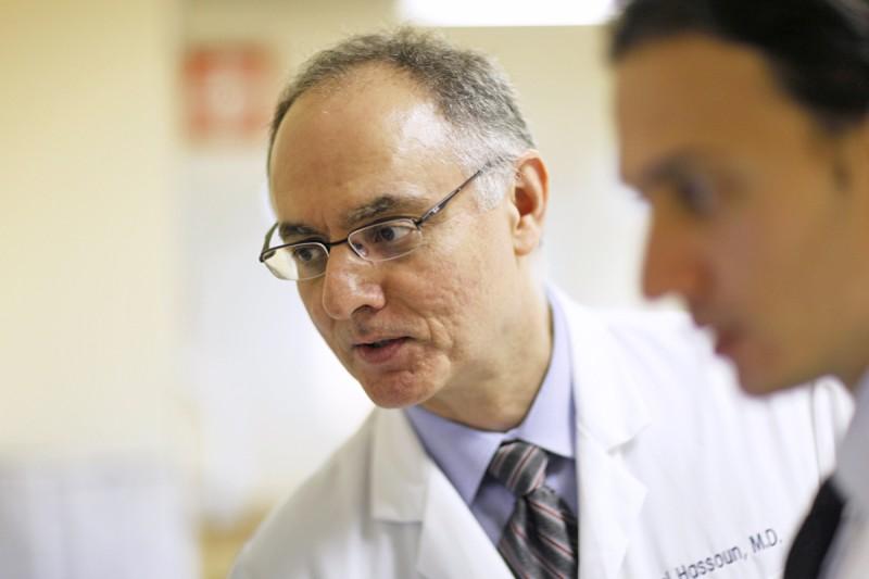 Hematology-oncologist Hani Hassoun
