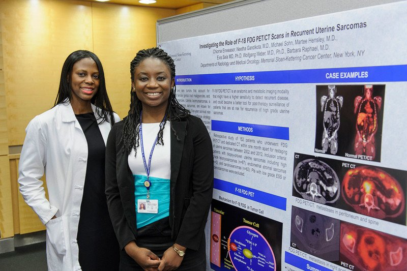 Pictured: Barbara Raphael & Chioma Enweasor