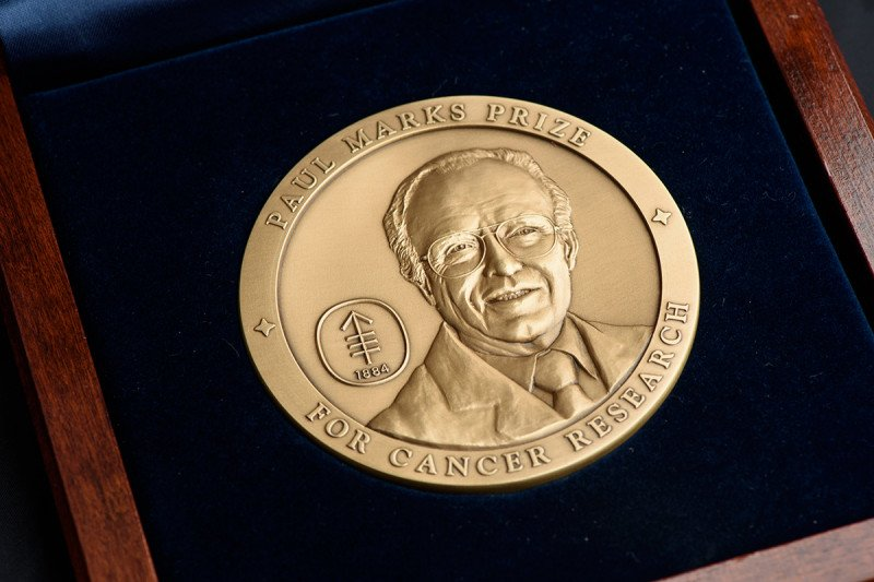 Pictured: Paul Marks Prize Medal
