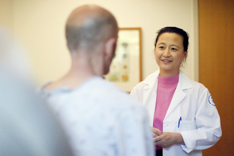 Medical oncologist Han Xiao at MSK Basking Ridge