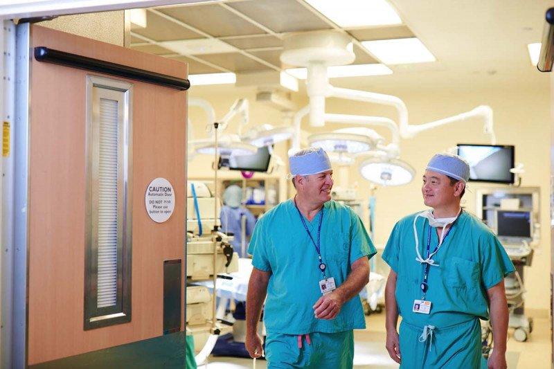 Sarcoma surgeons Sam Singer and Sam Yoon