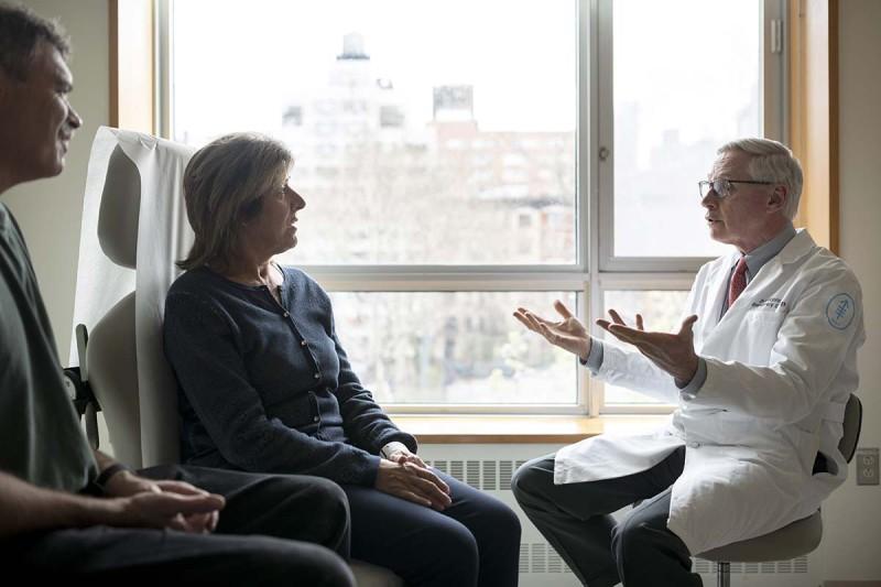 Medical oncologist Dean Bajorin