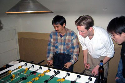 Justin Potuzak foosball, diversity oriented synthesis, rational drug design, and chemical biology research
