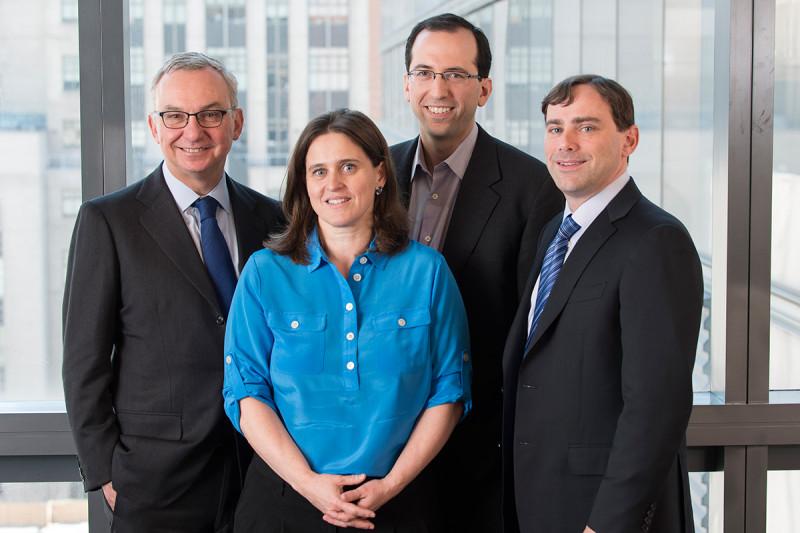 Pictured: José Baselga, Agnès Viale,  Michael Berger & David Solit