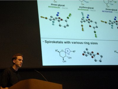 Potuzak Seminar, diversity oriented synthesis, rational drug design, and chemical biology research
