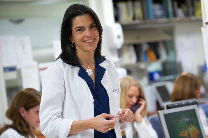 Pictured: Medical oncologist Diane Reidy-Lagunes