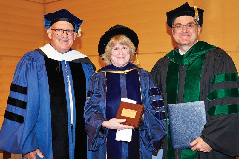 Pictured: Douglas Warner III, Mary-Claire King & Craig Thompson