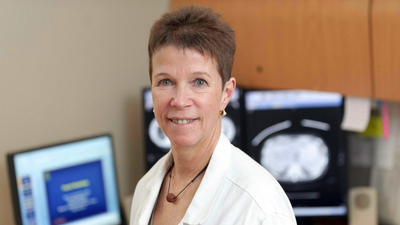 Interventional radiologist Karen Brown outlines techniques she uses to care for patients with liver cancer