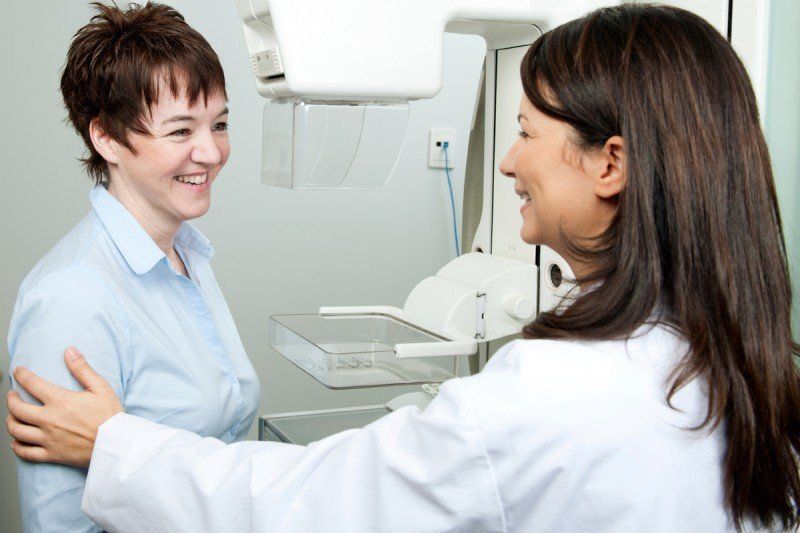 Dense breast tissue can sometimes make cancer detection by mammogram more challenging.