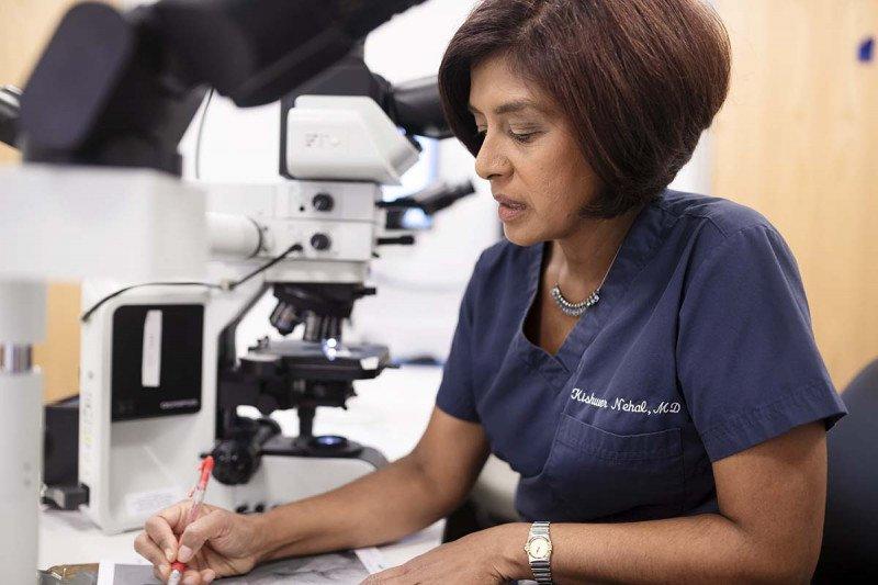 Kishwer Nehal, head of MSK's Multidisciplinary Skin Cancer Management Program
