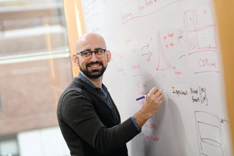 Pictured: Computational biologist Ahmet Zehir