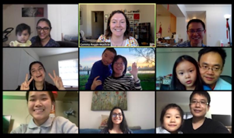 Virtual lab meeting