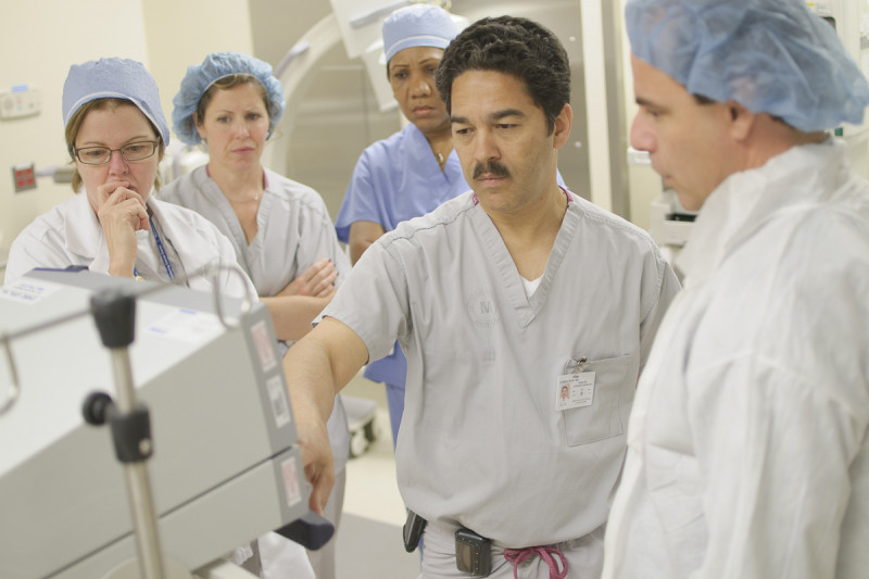 Gastroenterologist Hans Gerdes