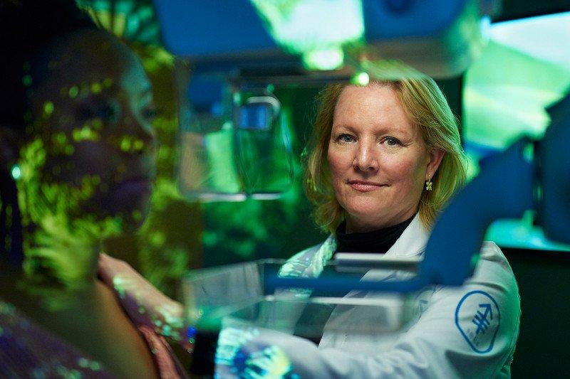 Imaging radiologist Elizabeth Morris