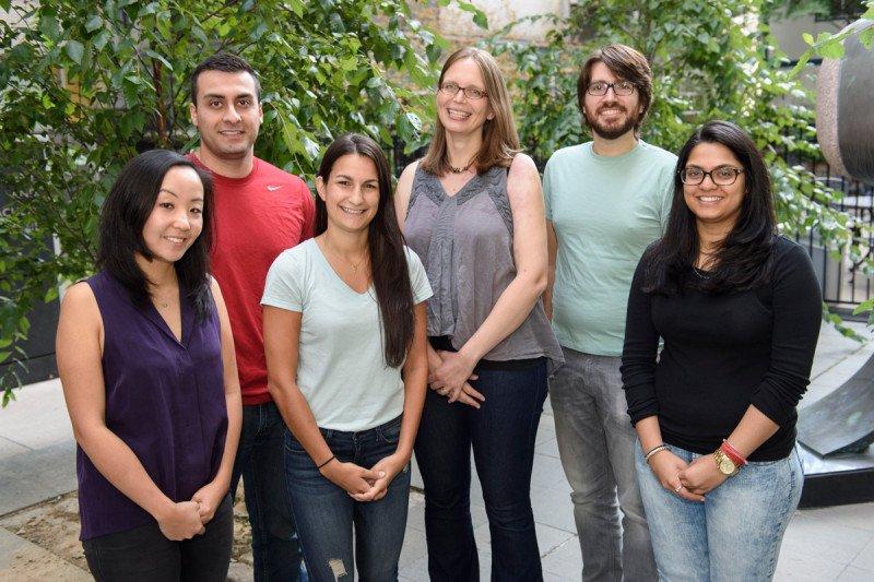 Julia Kaltschmidt Lab group photo