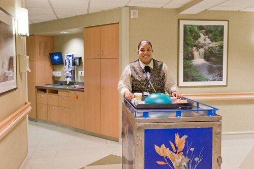 Room Service Enhances Patient Comfort