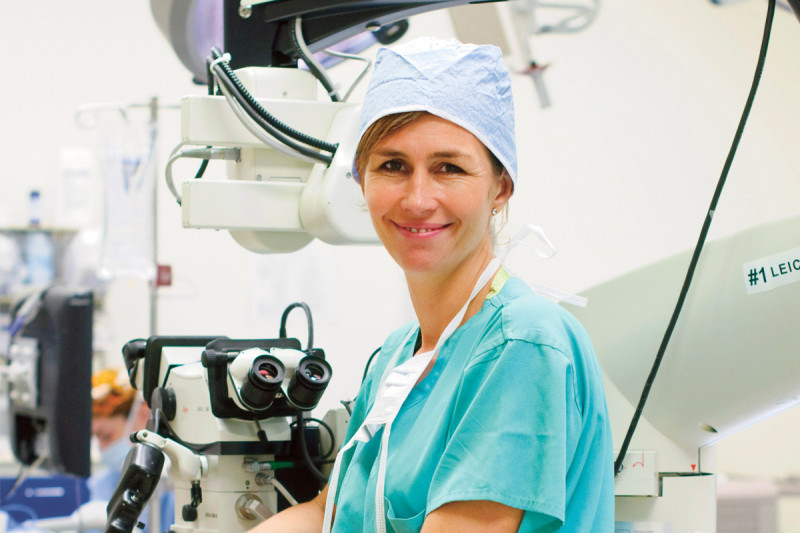 Plastic surgeon and breast reconstruction specialist Andrea Pusic
