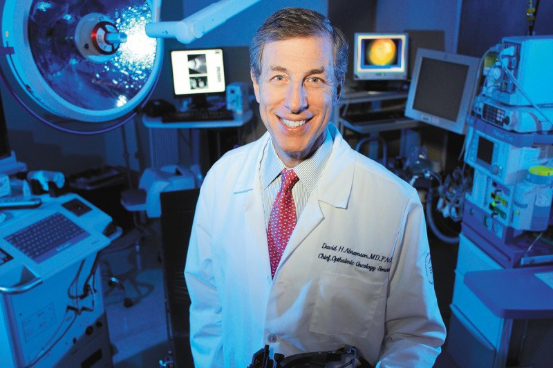 David Abramson cares for patients with melanoma of the eye