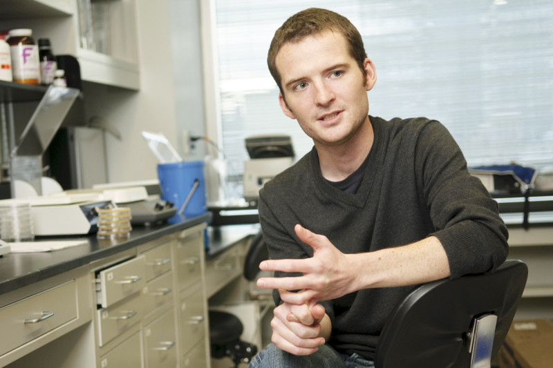 At Work: Molecular Biologist Iestyn Whitehouse