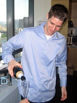 Justin Cisar champagne, diversity oriented synthesis, rational drug design, and chemical biology research