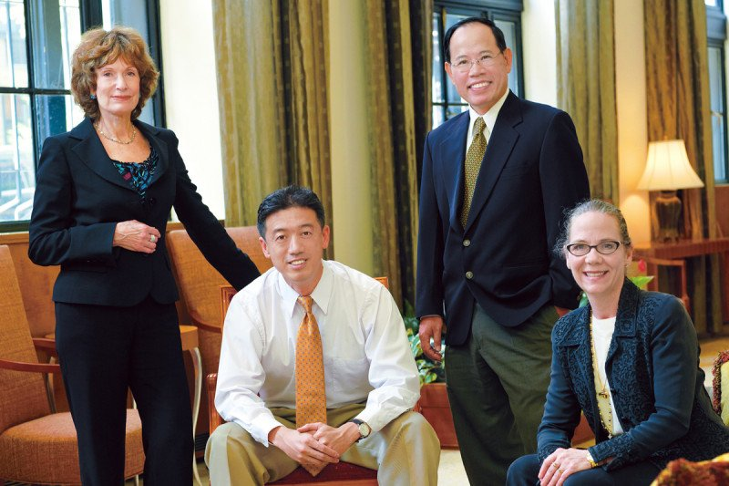 Barrie Cassileth, Gary Deng, Simon Yeung, and Kathleen Wesa