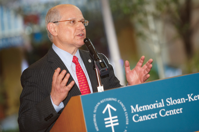 Larry Norton, Medical Director, Evelyn H. Lauder Breast Center