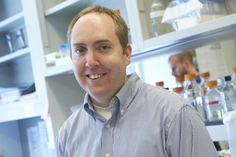 At Work: Cell Biologist Cole Haynes