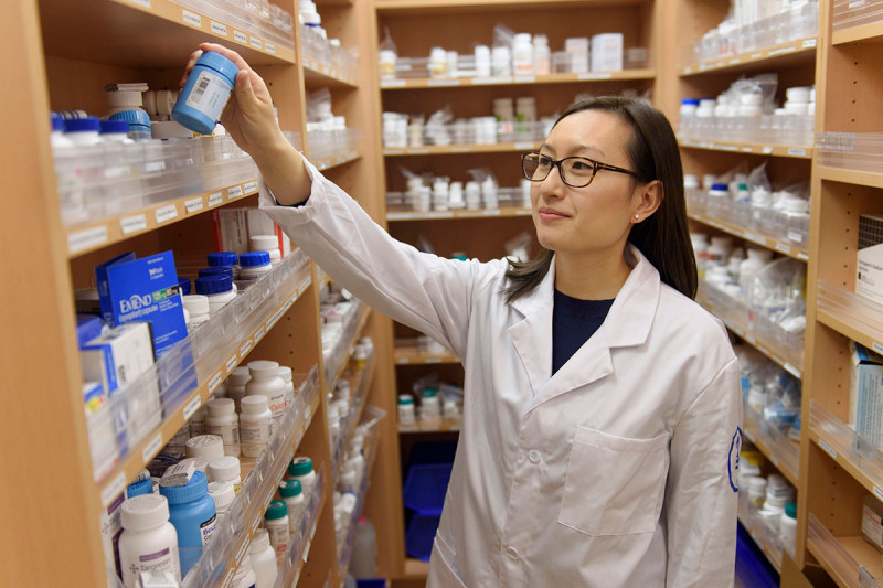 MSK pharmacist Stacy Wong