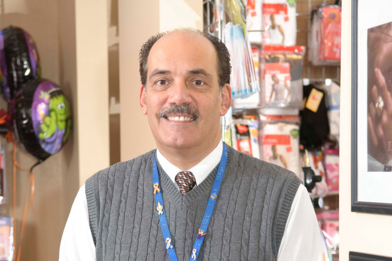 Gift Shop Manager G. William Baglione, Jr.