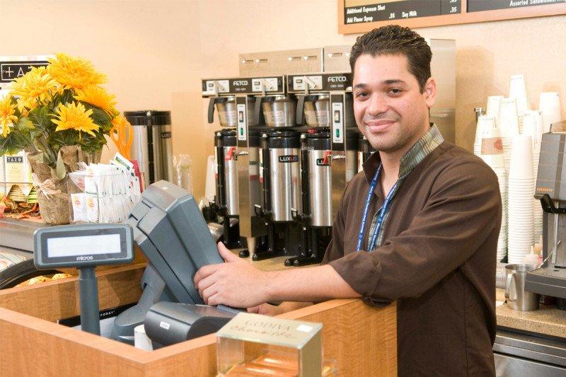 Gift Shop Associate Juan Viteri