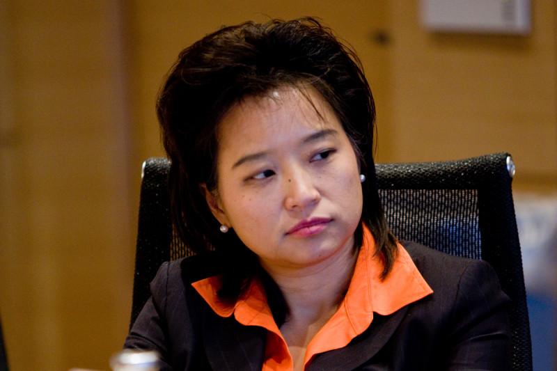Board member Lynda Chin