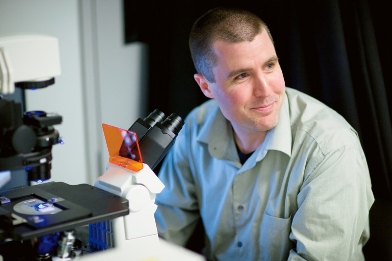 At Work: Cell Biologist Michael Overholtzer