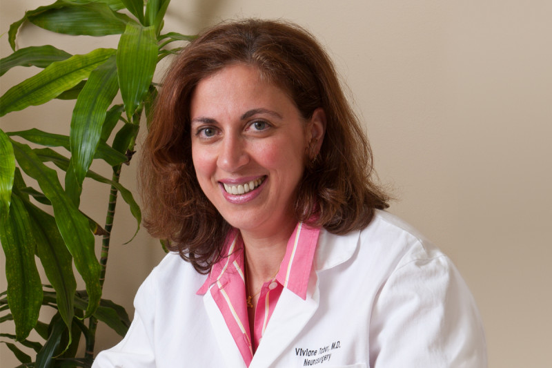 At Work: Neurosurgeon Viviane Tabar