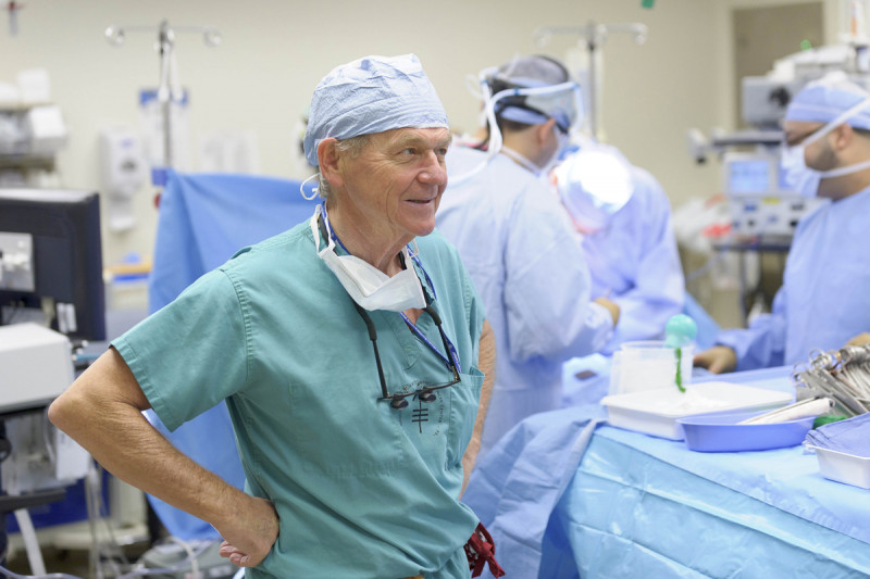 Murray Brennan, a surgical oncologist, has great expertise in caring for people with this rare cancer.