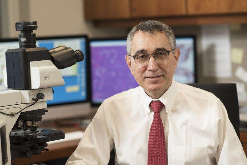 MSK pathologist Ahmet Dogan