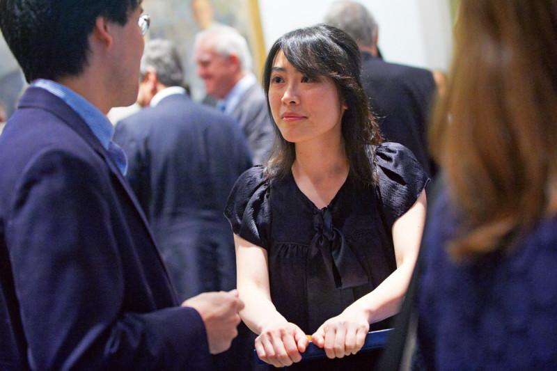 Dorris J. Hutchison Fellowship winner Jr-Shiuan Yang.