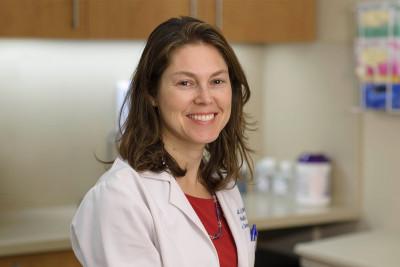 Memorial Sloan Kettering physician Rebecca Guest