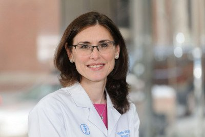 Breast surgical oncologist Laurie Kirstein