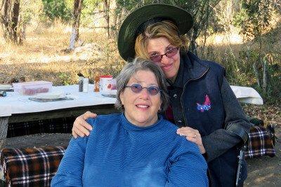 Lesbian breast cancer survivor Janet Weinberg