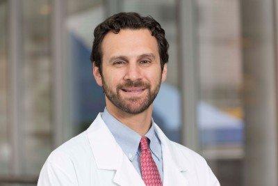 MSK medical oncologist Samuel Funt