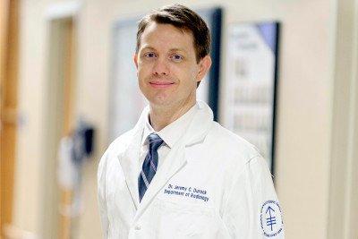 Memorial Sloan Kettering interventional radiologist Jeremy Durack