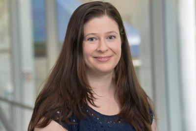 MSK medical oncologist Rachel Sanford