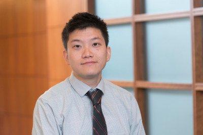 MSK hematopathologist Caleb Ho