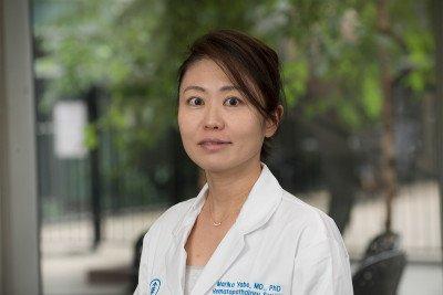 Memorial Sloan Kettering pathologist Mariko Yabe