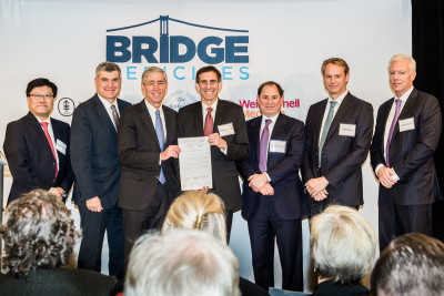 MSK, The Rockefeller University and Weill Cornell Medicine announced that they have established a new drug discovery company called Bridge Medicines. This was launched in partnership with Takeda Pharmaceutical Company Ltd.