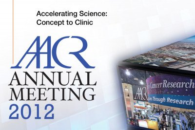 Pictured: American Association of Cancer Research Annual Meeting 2012